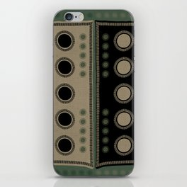 """Tribal Viridian Stars"" iPhone Skin"