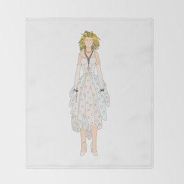 Madge 2 Like A Virgin Throw Blanket