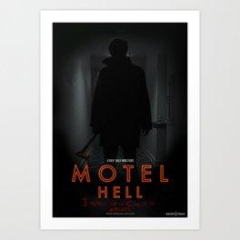 Motel Hell 2012 Hallway 2 Art Print