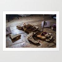 Brown Bread  Art Print