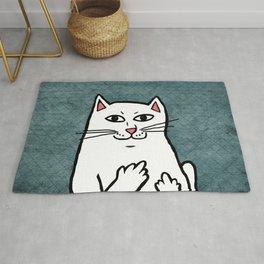 Naughty Cat Rug