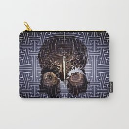 sayagata papua skull Carry-All Pouch