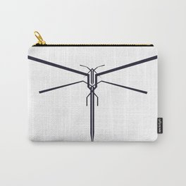 DRAGONFLY B/W Carry-All Pouch