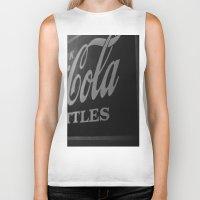 coca cola Biker Tanks featuring Coca-Cola by Colbie & Co.