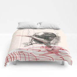 Red River Graphic  Comforters