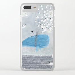 up and up Clear iPhone Case