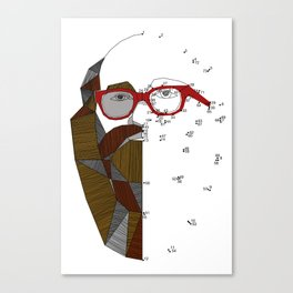 barbudo Canvas Print
