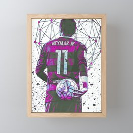 football star Framed Mini Art Print