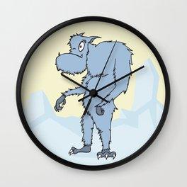 Mr. Yeti Dude Wall Clock