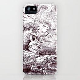 Three Dragons iPhone Case