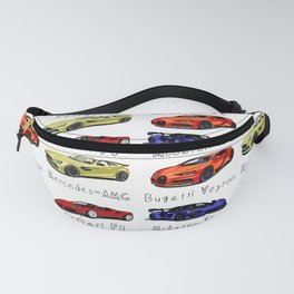 Sports cars Fanny Pack