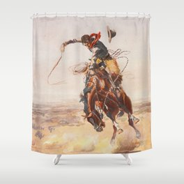 Bronco Shower Curtains
