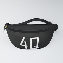 4Q - Fuck You - Chat Shorthand - Fun Acronyms - Typography Sarcasm Fanny Pack