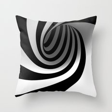 Spiral Throw Pillow
