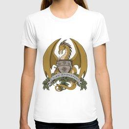 Clan Stonefire Crest - Gold Dragon T-shirt