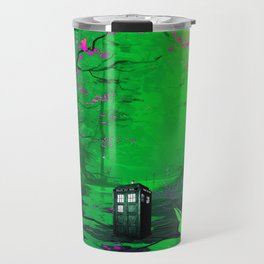 Tardis Stay Lost In The Forest Travel Mug