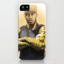 Killa Beez : Golden Arms iPhone Case
