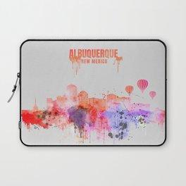 Albuquerque City Skyline Laptop Sleeve