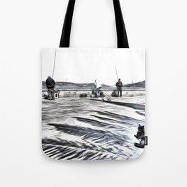 The Waiting Game Art Tote Bag