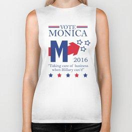 Vote Monica 2016 Biker Tank