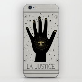 La Justice or The Justice Tarot iPhone Skin