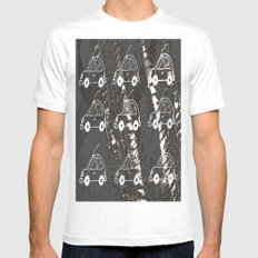 Cars SMALL Mens Fitted Tee White