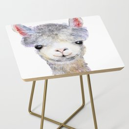 Baby Alpaca / Llama Side Table