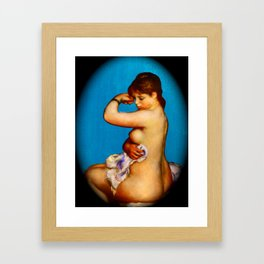 After the Bath 4 Framed Art Print