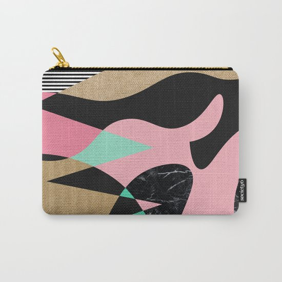 Shapes_Textures_Stripes Carry-All Pouch