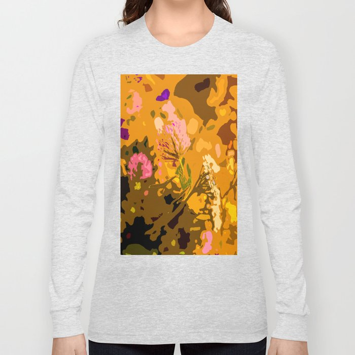 Autumn bouquet wildflowers #decor #society6 Long Sleeve T-shirt