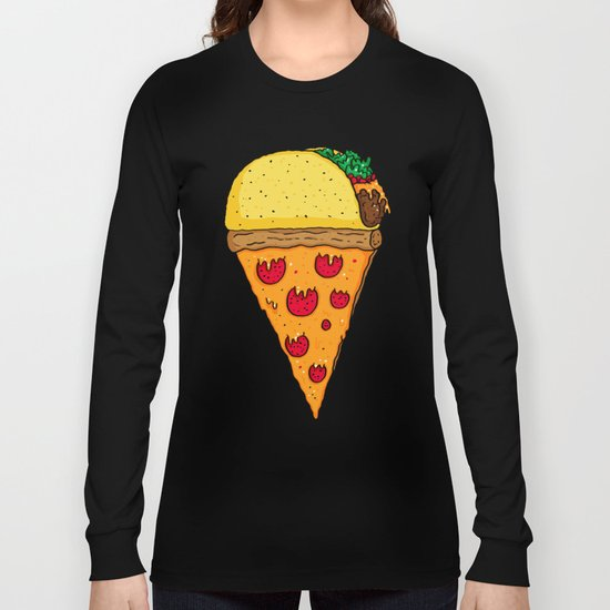 Taco Pizza Cone Long Sleeve T-shirt