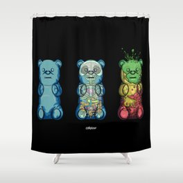Yummi bears Shower Curtain