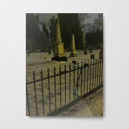 The Cemeteries Of Our Parents Metal Print
