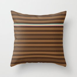 Too Much Brown... Kinda Throw Pillow