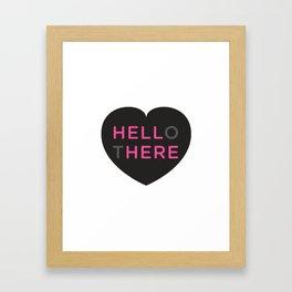 Hell Here Framed Art Print