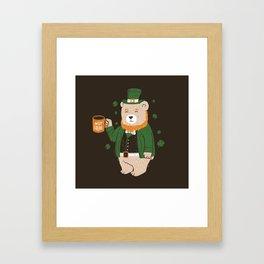 Not Coffee Framed Art Print