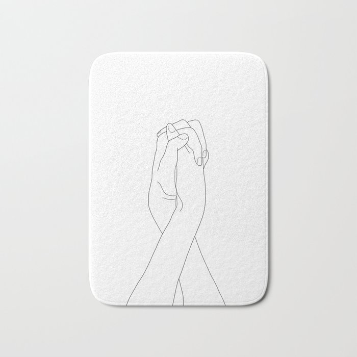 Never Let Me Go II Bath Mat