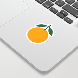 Orange Summer Citrus Sticker