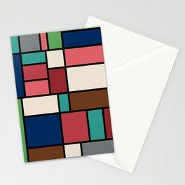 The Colors of / Mondrian Series - Spirited Away - Miyazaki Stationery Cards