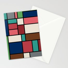 The Colors of / Mondrian Series - Spirited Away - Miyazaki Stationery Cards