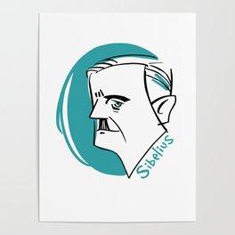 Jean Sibelius #4 Poster