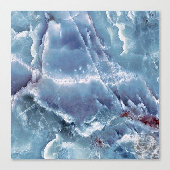 Blue onyx Canvas Print