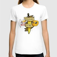 finn and jake T-shirts featuring Finn and Jake by Nate Galbraith