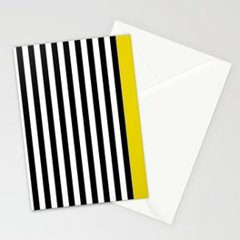Liquorice allsorts, yellow Stationery Cards