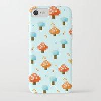 mushroom iPhone & iPod Cases featuring Mushroom by Kakel