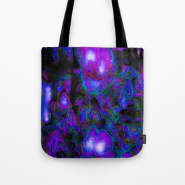 1 Purple Splash Tote Bag