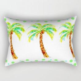Tropical Palms Rectangular Pillow