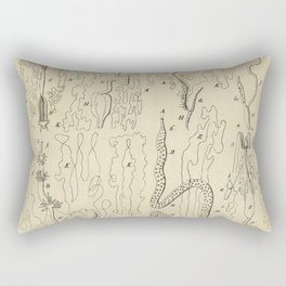 Microscopic Biology Rectangular Pillow