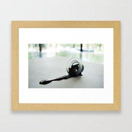 Ink cap Framed Art Print