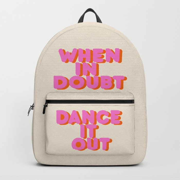 Dance it out Backpack